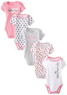 Calvin Klein Baby-Girls Newborn 5 Pack Gray and Pink Bodysuit , Multi, 3-6 Months Calvin Klein http://www.amazon.com/dp/B00NKP81EO/ref=cm_sw_r_pi_dp_Q4EUub0AA5QNY