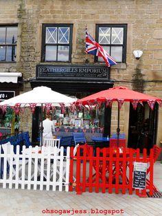 Hebden Bridge West Yorkshire England - World's 4th Funkiest Town. Tea Rooms.