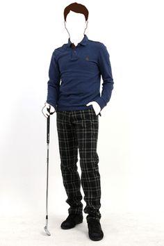 제이크로우 선염 울혼방 체크 골프 팬츠 JCROW WOOL CHECK PANTS  http://www.jamesmartin.kr/