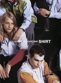 Comme des Garçons Shirt S/S 12 (Comme des Garcons) Fashion Advertising, Advertising Campaign, Campaign Posters, Cindy Sherman, Lindbergh, Comme Des Garçons Shirt, Rei Kawakubo, Campaign Fashion, Fashion Brand