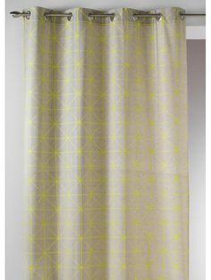 rideau palacio coloris jaune moutarde 140 x 240 cm rideaux pinterest salons and childs bedroom. Black Bedroom Furniture Sets. Home Design Ideas