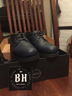 My new Broken Homme oxfords--really nice