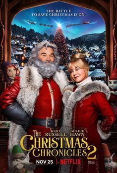 The Christmas Chronicles 2 The Magic of Goldie Hawn as Mrs. Claus