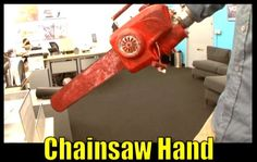 How to make your own 'Evil Dead Chainsaw Hand'! Video AND Picture Tutorial included.