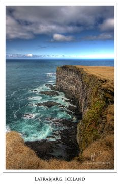 Látrabjarg Cliffs, West Fjords_ Iceland