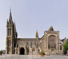 Saint Paul Aurelien church, saint-Pol-de- Lçeon, Bretagne