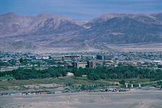 Calama Chile. Aerial View