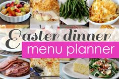 Easter Dinner Favorites + Menu Planner | Mel's Kitchen Cafe