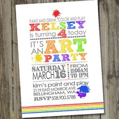 Not sure if we are going modern or traditional but this is a cool Lettering idea for invite.