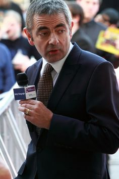 Rowan Atkinson at the Johnny English Reborn World Premiere in Sydney, Australia on 4 September Johnny English Reborn, Working Title Films, My Beautiful Laundrette, Mary Queen Of Scots, I Like Him, Thin Blue Lines, Rowan, Actors, Sydney Australia
