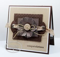 Congratulations by Mylittlecraftblog - Cards and Paper Crafts at Splitcoaststampers