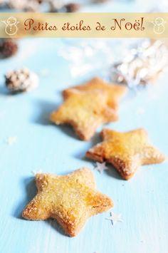 Petites étoiles de Noël aux épices - La popotte de Manue