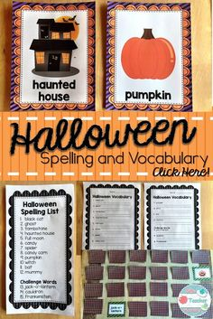 Halloween Spelling a