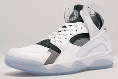 "Nike Air Flight Huarache ""White, Black & Cool Grey"""