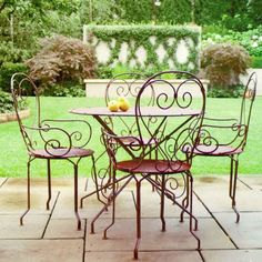 Móveis de Ferro -Iron Furniture
