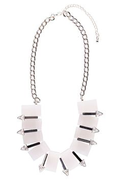 Chelsea Crystal and Chain Collar Necklace alternative image