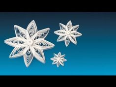 QUILLING Star 22 - The Star of Skive - YouTube
