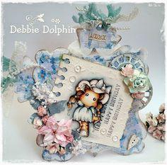 Debbie Dolphin: Its Aqua At The Ribbon Girls