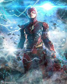 Ezra Miller as The Flash by Bryan Fiallos @bryanzapp #theflash #flezra