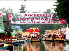 "Xochimilco is one of the areas in Mexico City that has been declared Cultural and Natural Heritage of the World by the UNESCO.    In Xochimilco, boat landings called ""trajineras"" carry visitors through water canals (sort of a Mexican Venice). It's a very interesting place to go."