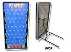 Our Plinko game will be a lot of fun at your back-to-school event. Easy to set up and easy to run, the kids and adults will LOVE this! www.jumpinjiminyinc.com