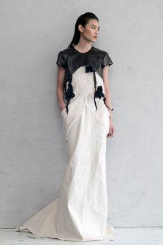 TITANIA INGLIS black and white cotton dress