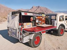 Here is an interesting canvas canopy camper setup on a type trailer. Some good ideals for how to outfit your Dinoot. Bug Out Trailer, Off Road Camper Trailer, Small Trailer, Trailer Build, Trailer Hitch, Camper Trailers, Expedition Trailer, Expedition Vehicle, Overland Trailer