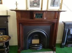 Antiques Atlas - Arts And Crafts Period Fire Surround