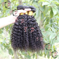 Full Cuticle Kinky curl natural color