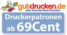 Druckerpatronen ab 0,69€ bei gutdrucken.de