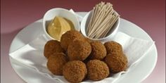 Try this BITTERBALLEN - Dutch Cocktail Croquettes recipe by Chef AnneMarie.
