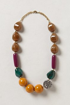 Paradiso Necklace - anthropologie.com Love the colors!