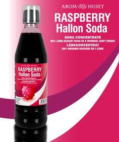 Classic läsk Hallon koncentrat för att smaksätta kolsyrat vatten och göra läsk.  Avsett för alla läskmaskiner oavsett fabrikat.  80% mindre socker än en vanlig läsk (lika söt). Med fibrer.   En flaska Classic läsk 500 ml koncentrat räcker att smaksätta 12.5 liter kolsyrat vatten.  Använd medföljande doseringskopp för att dosera.  Rekommenderad dosering är 40 ml koncentrat för 1 liter kolsyrat vatten, eller efter egen smak.