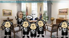 President John Adams: From Alien and Sedition Acts to XYZ Affair - Free US History I Video This site has many free videos that work great with Tapestry of Grace. 8th Grade History, Ap Us History, High School History, American History, Xyz Affair, John Adams Presidency, Alien And Sedition Acts, Tapestry Of Grace, School Doors