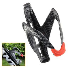 Carbon Fiber Road Mounting Bicycle Bottle Holder MTB/Road Cycling Outdoor Water Bottle Holding Rack Cage Bicycle Accessories #Affiliate
