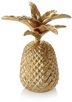 Love pineapples! How cool would this jewellery holder look with loads of gold necklaces hanging off!