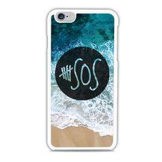 5 SOS Logo Beach Sea iPhone 6 Case