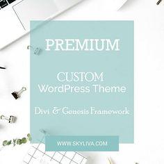 Custom WordPress Theme Divi Theme WordPress Theme