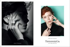 Natalie Westling stars in Tiffany & Co's fall-winter 2016 campaign