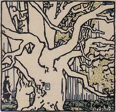 Vojtech Preissig - The House 1929 Foam Crafts, Craft Foam, Rest Of The World, Tree Of Life, Art Inspo, Printmaking, Animal Print Rug, Carving, Art Prints