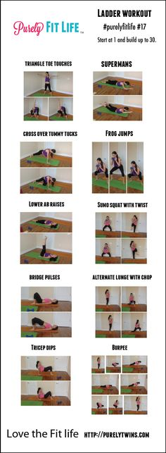 Ladder Workout - full body workout #fitfluential