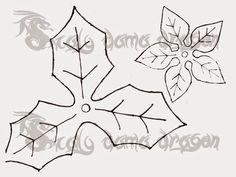 Mil ideas Scaly Dama Dragon: Flor de Pascua | Nochebuena | hecha de Foamy, Goma eva (tecnica termofor...