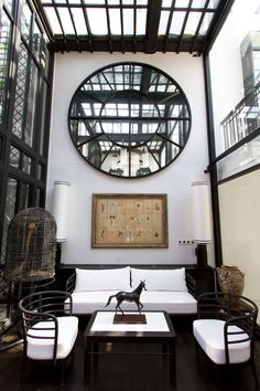The slickest city spa: The Siam, Bangkok, Thailand Spa Interior, Modern Interior Design, Interior Design Kitchen, Interior Architecture, Kitchen Designs, Interior Stylist, Hotel Interiors, Office Interiors, Decoration
