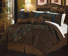 (Click to order - $359.00) Del Rio Comforter Set - Super Queen From Hi-End Accents