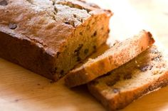 This is inspired by Starbucks' low fat chocolate chip banana bread and is great with coffee. Although many of the ingredients are low fat, the bread comes out very moist.