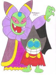 Cackletta And Fawful By Mariosimpson1 Mario Characters