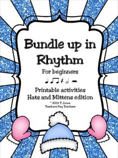 4 Pages of fun printables for your YOUNGER music students to review and reinforce note value.  Created by the Totally Tuned-in Teacher, Tina Jones ***This file is included in  Rhythm Fun Through the Seasons SAVE 20% by purchasing the BUNDLE***Rhythms included in this set are:quarter notequarter resteighth noteshalf notehalf restPrint out for individuals or project and do as a whole groupUse as worksheets, assessments, or even substitute plans!Perfect quick assessments for elementary music…