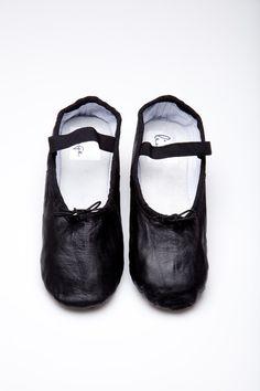 Black Ballet Shoe