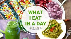 In this What I Eat In A Day video, I show you some of my favorite healthy, vegan recipes that I like eating in the summer.