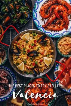The Best Places to Try Paella in Valencia Spain Food, Restaurant, Foodie, Best Places To Eat, Seaside Restaurant, Dishes, City Restaurants, Foodie Travel, Food